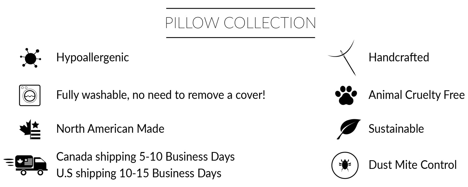 Pillow Collection Features