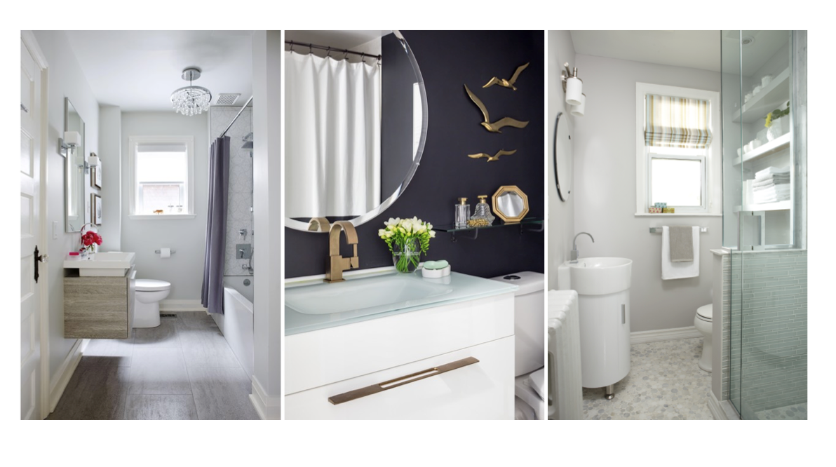 let's talk bathroom trends and how to spice it up on a