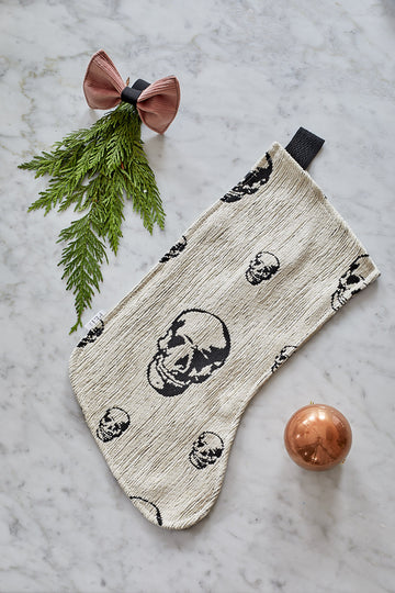 DOG SKULL STOCKING
