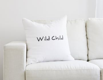 Wild Child Pillow