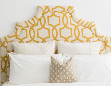 fabric headboard, canadian