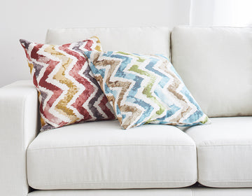 fun colour pillow