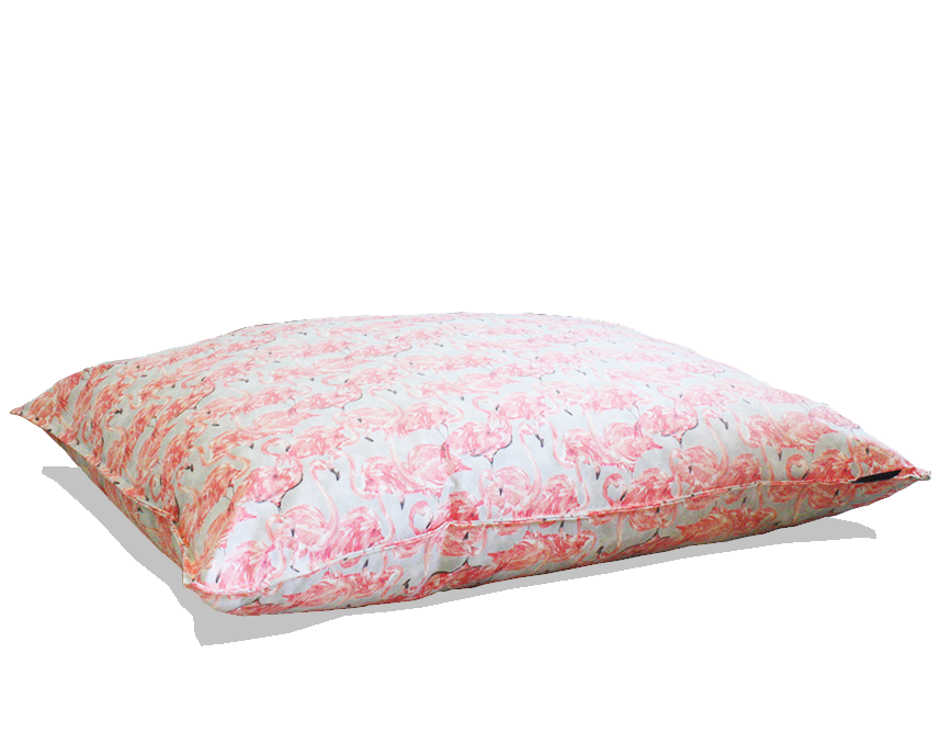 flamingo pillow bed