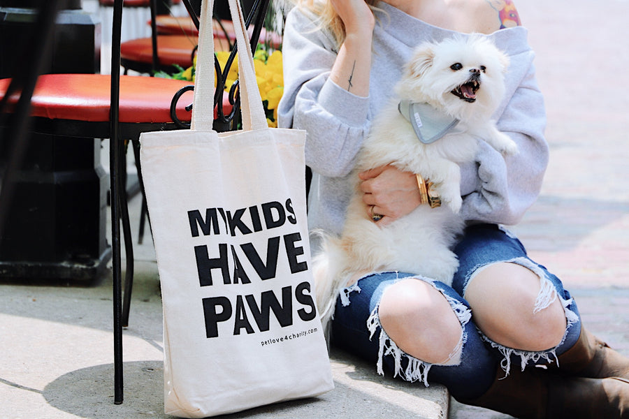canadian tote bag pet love