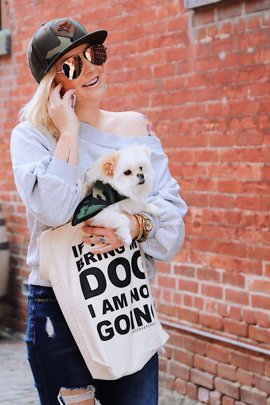 toronto company tote bag dog sayings