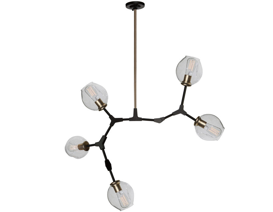 Organic JA14025VB 5 Light Chandelier