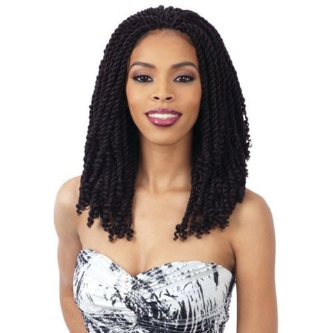 "2X KINKY TWIST 10"" - Freetress Synthetic Crochet Pre Looped Braid"