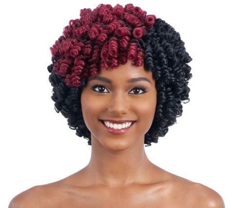 2X Weezy Curly Small - Freetress Synthetic Hair Wand Curl Crochet Braid