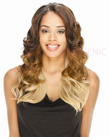 Equal Lace Front Invisible Part Synthetic Wig NOVEL