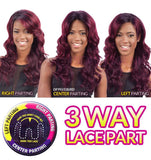 Equal Synthetic 3 Way Part Lacefront Wig CHANTAE