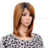 Equal Synthetic Diagonal Part Lace Front Wig SPRING BLOSSOM
