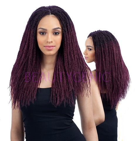 Freetress Synthetic Crochet Braid SISTA TWIST 16 inches Long Hair Braids
