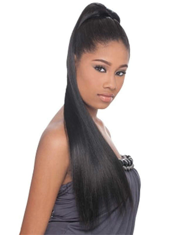 FreeTress Equal Drawstring Ponytail Yaky Straight 24
