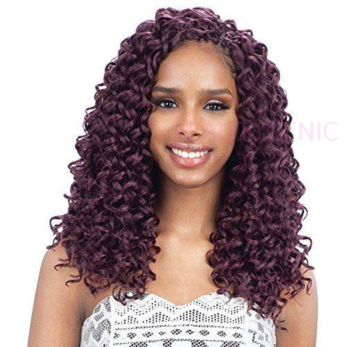 Freetress Synthetic Hair Crochet Braids Gogo Curl 12 Inches