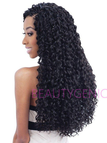 FreeTress Synthetic Hair Crochet Braids BARBADIAN BRAIDS