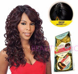 Freetress Equal Synthetic Brazilian Natural Deep Invisible Part Wig LACE BENTLY