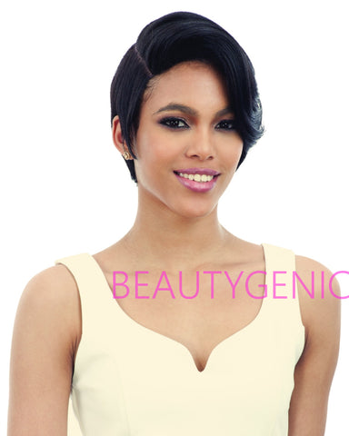 Freetress Equal Human Hair Blend Illusion Cap Lace Side Wig Ic-001
