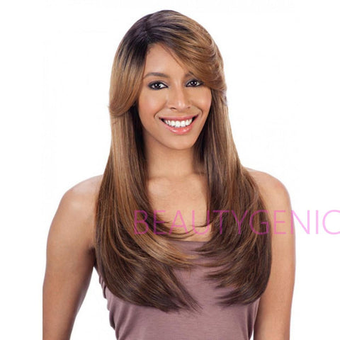 Freetress Equal Synthetic Diagonal Part APPLE BLOSSOM Lace Front Wig