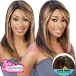 Freetress Equal Synthetic Brazilian Natural Deep Invisible Part Wig LACE NELLY