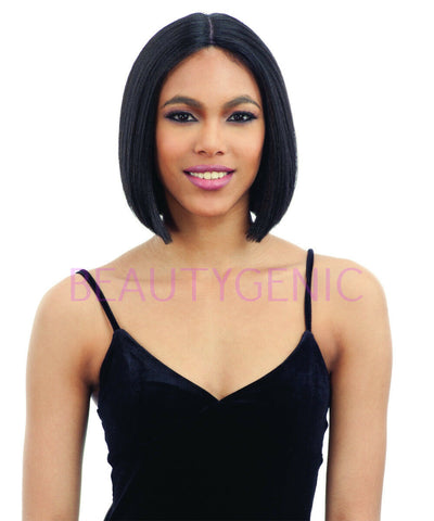 Freetress Equal Synthetic 5 Inch Lace Part Straight Bob Style Hair Wig VANA