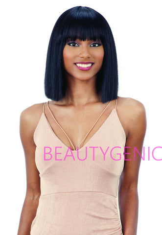 Freetress Equal Synthetic Short Straight Hair Wig Mila By Shake n Go