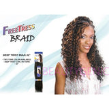FreeTress Synthetic Hair Crochet Braids Deep Twist 22 Inches