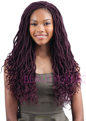 Freetress GODDESS LOC 18 inches Braid Synthetic Braiding Hair Crochet Braids