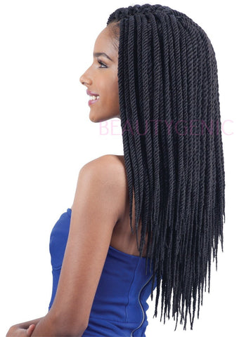 FreeTress Synthetic Hair Crochet Braids SENEGAL TWIST LARGE