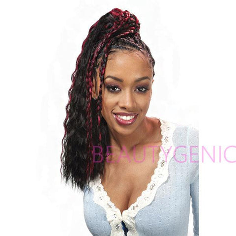FreeTress Synthetic Hair Crochet Braids SUPER WAVE 20 Inches