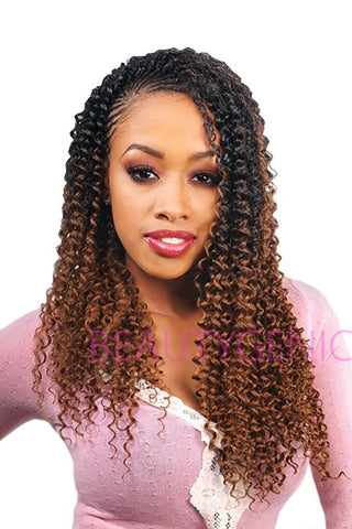 FreeTress Synthetic Hair Crochet Braids WATER WAVE 22 Inches