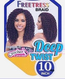 Freetress Crochet Braid DEEP TWIST 10 Inch