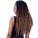 FreeTress Synthetic Braids – 2X Wavy Gypsy Locs 18 Inches Long Style