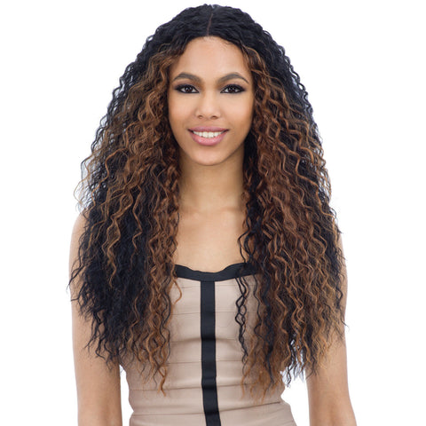 Freetress Equal Synthetic Deep Invisible Part Lace Front Wig - KATE