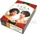 Saga 100% Remy Human Hair Wig HONEY GOLD