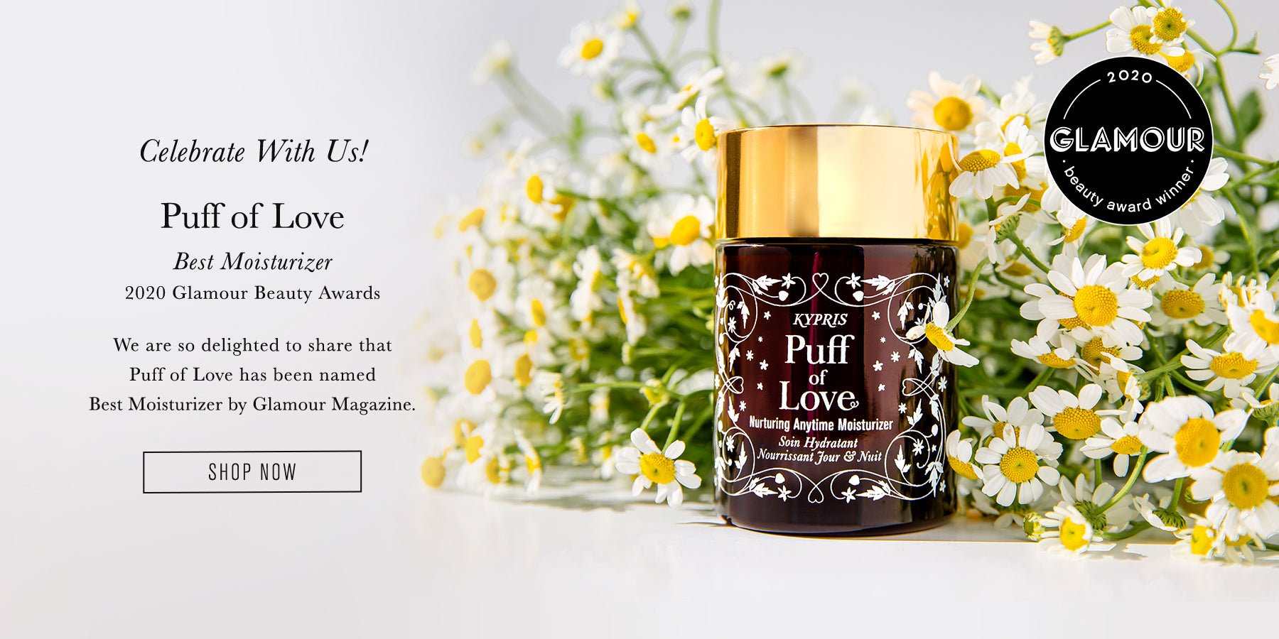 Glamour - Best Moistuirizer of 2020: Puff of Love