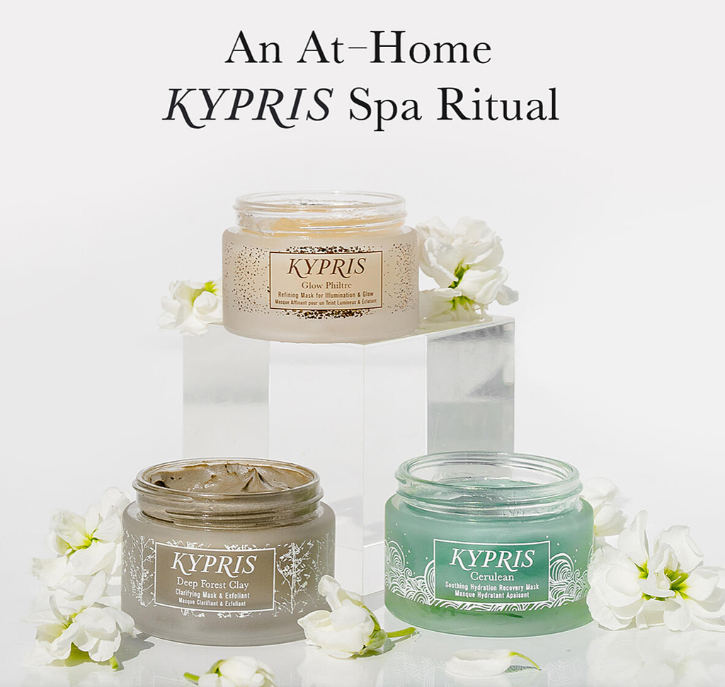At-Home Spa Day with KYPRIS: Facial Techniques Virtual Masterclass