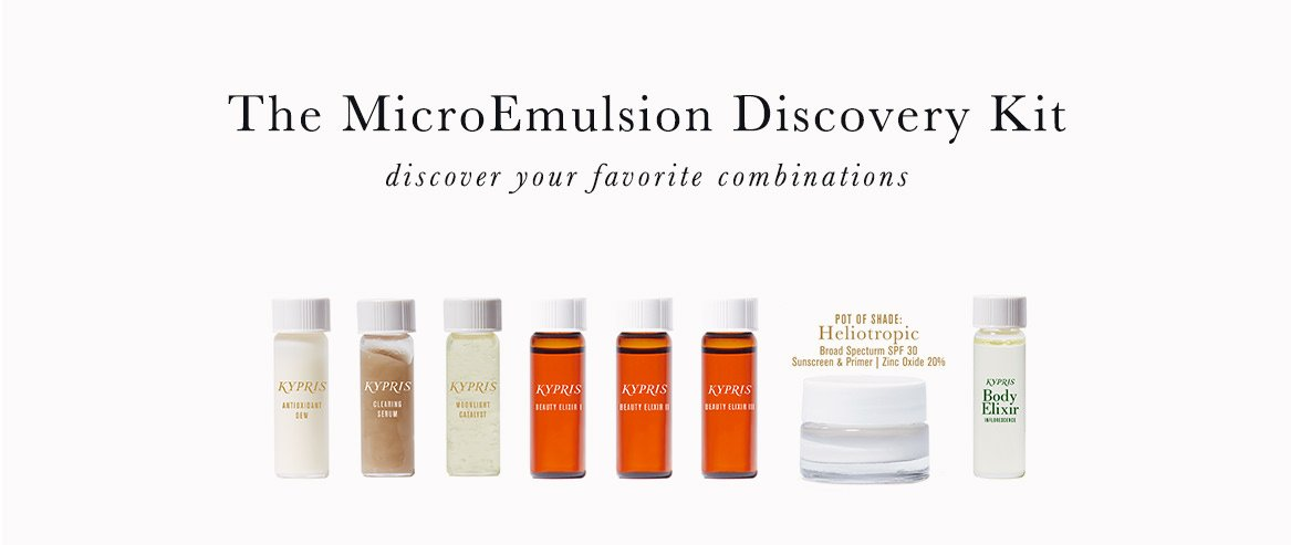 The MicroEmulsion Discovery Kit