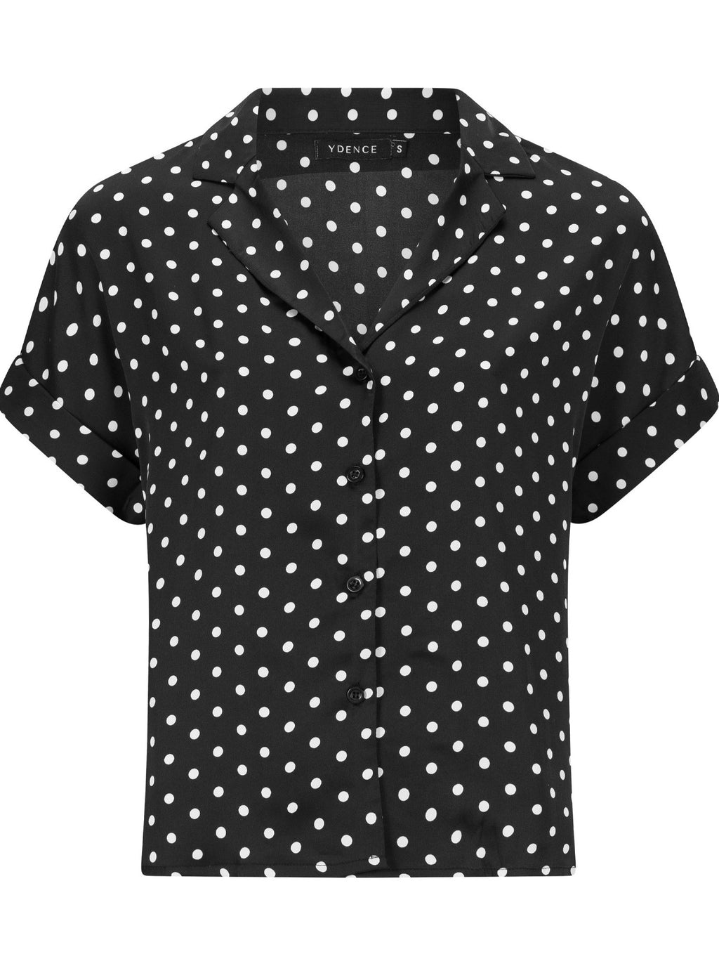 The Trani Shirt - Black Dots