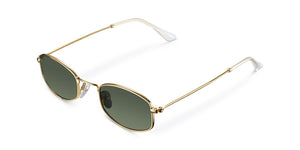 Suku Gold Olive Sunglasses
