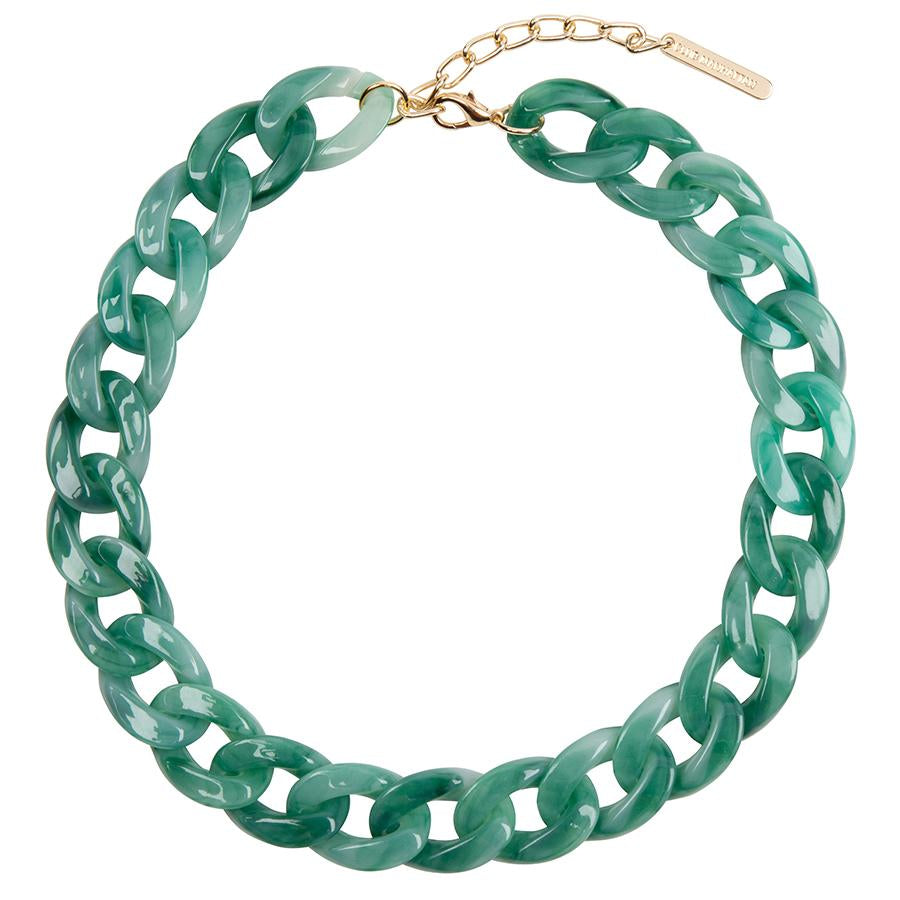 Tortoise Chain Necklace - Jade