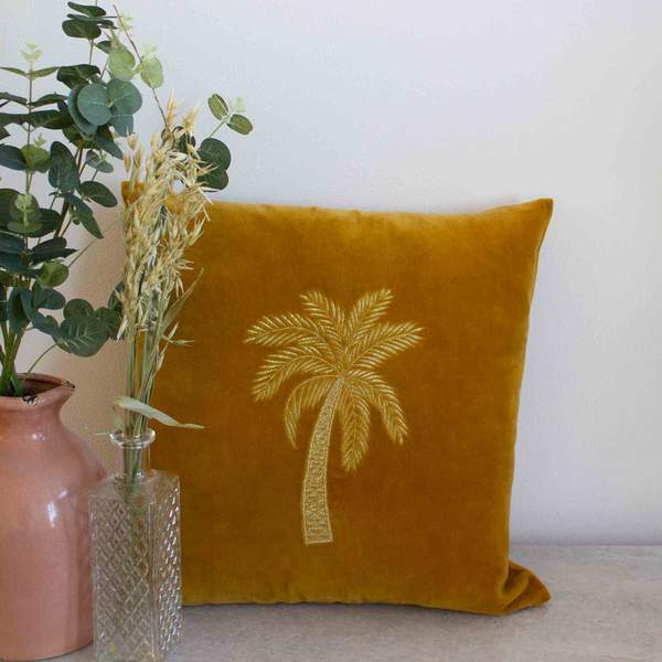 Cushion  - Velvet Gold