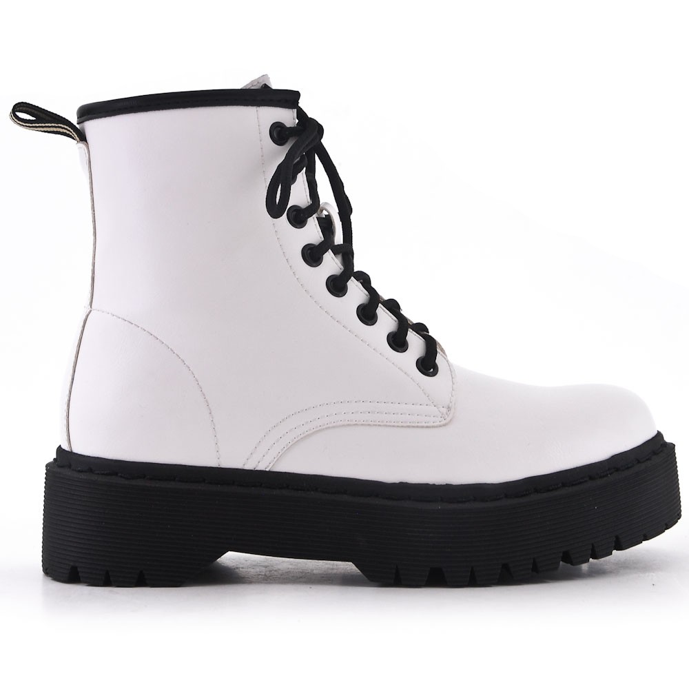 5th Boots - White