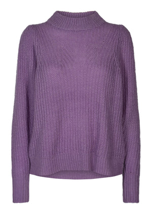 The Lavender Puff Knit Jumper