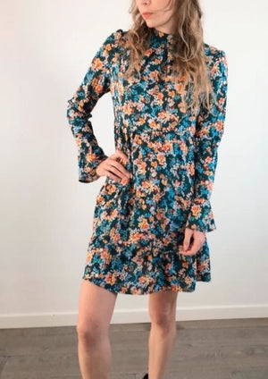 Flower Bomb Dress - Green