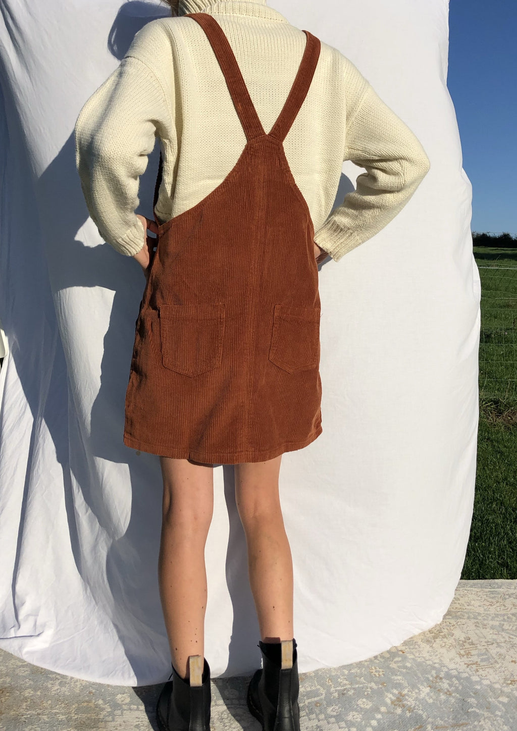 The Tennessee Dress - Ocher
