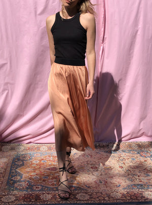The Tuscany Skirt - Peach