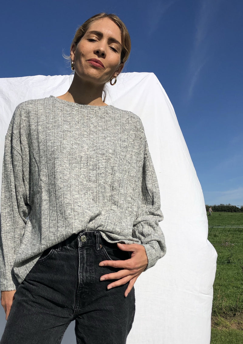 The Oslo Sweatshirt - Grey