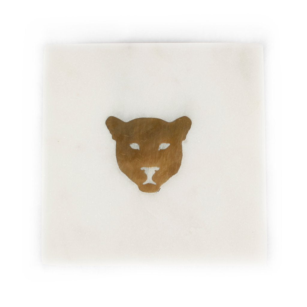 Leopard Marble Coaster