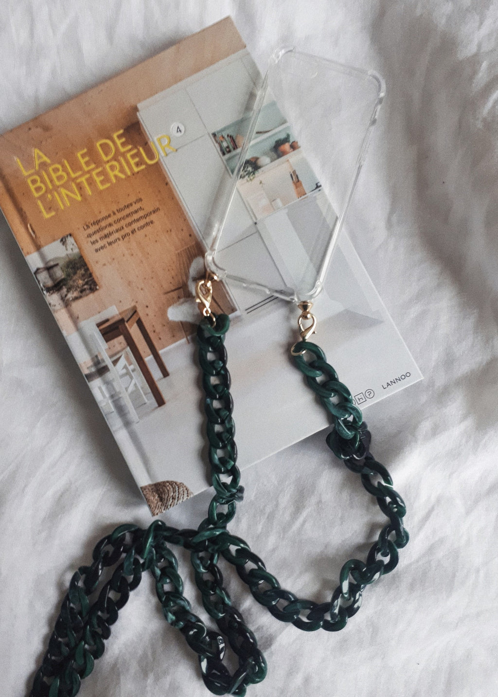 Iphone Case Necklace Green