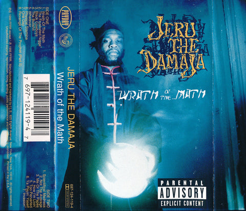 Jeru The Damaja ‎– Wrath Of The Math